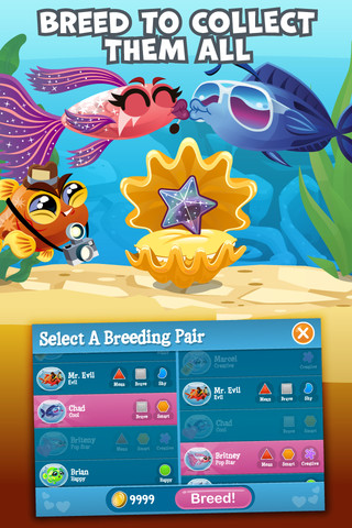 Fish with attitude video review iphoneglance for Fish with attitude breeding guide
