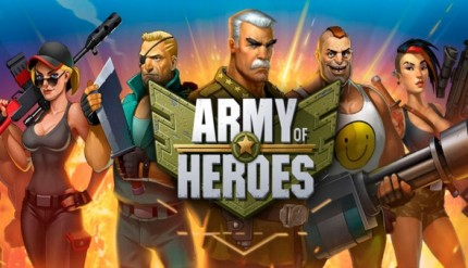 army of heros banner