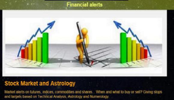 Financial alerts