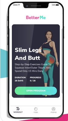iPhoneGlance - BetterMe: Weight Loss Workouts