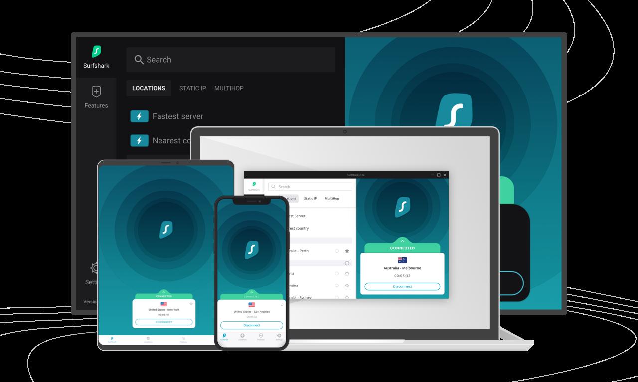 Surfshark VPN GET 81% OFF